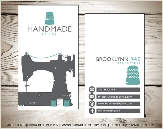 Cute Business Cards Sewing Business Card Design