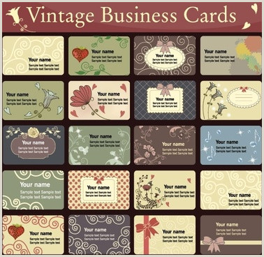 Cute Business Cards Templates Free Business Card Template Free Vector 39 837