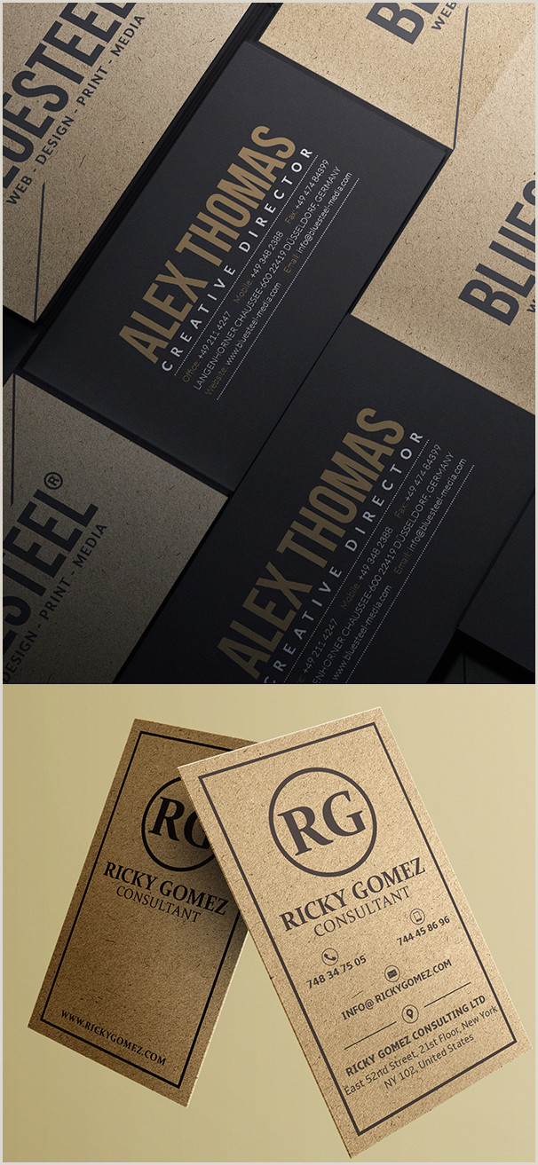 Design And Print Your Own Business Cards 80 Best Of 2017 Business Card Designs Design