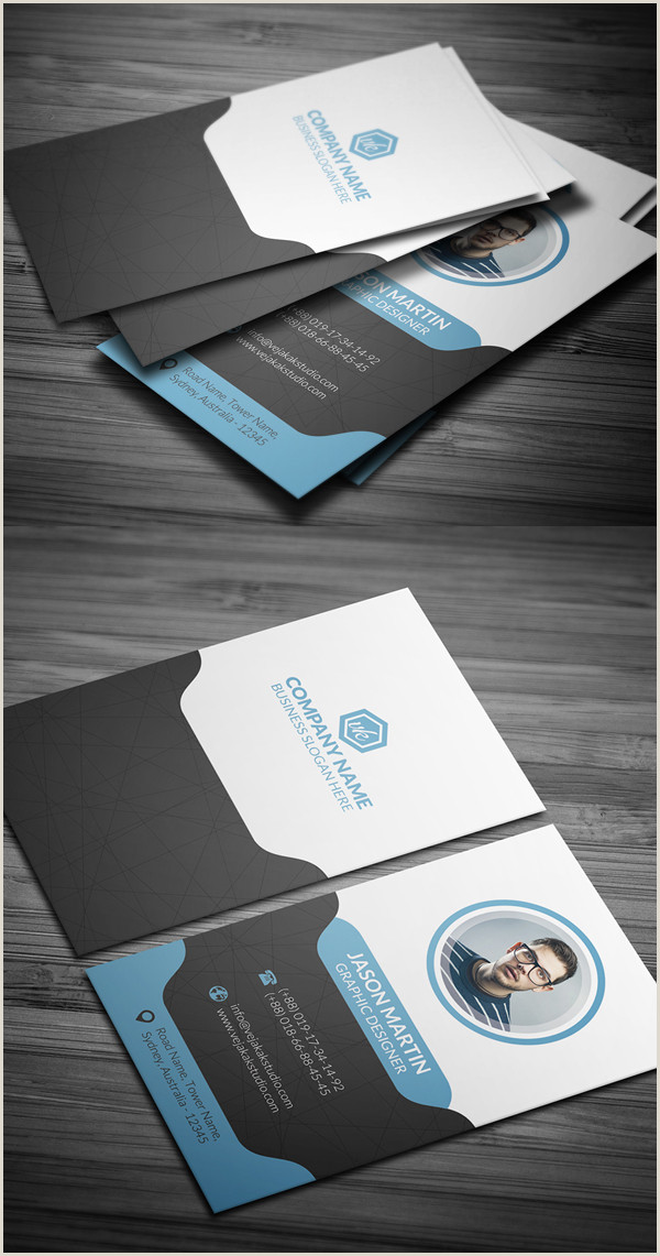 Design Unique Business Cards In Photoshop 27 New Professional Business Card Psd Templates