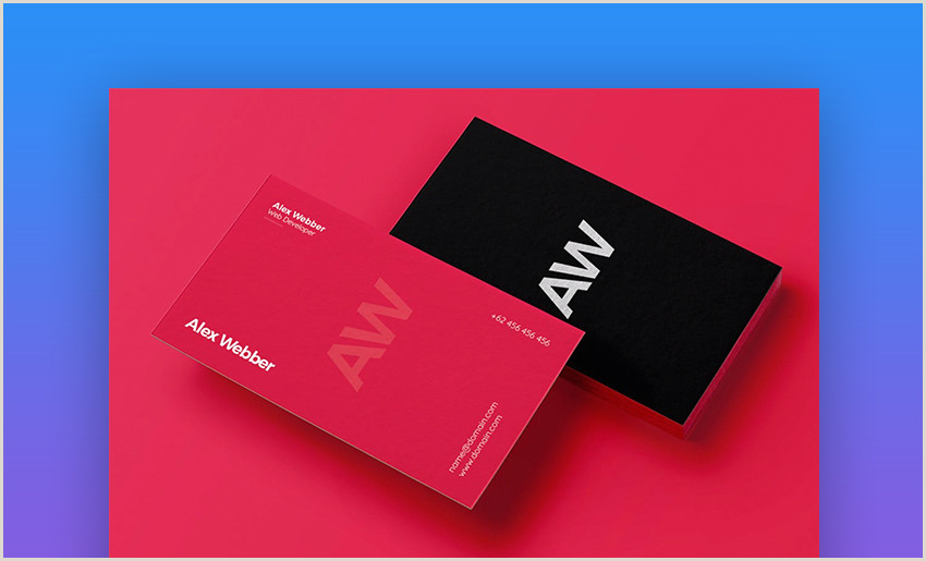 Design Unique Business Cards Online 18 Free Unique Business Card Designs Top Templates To