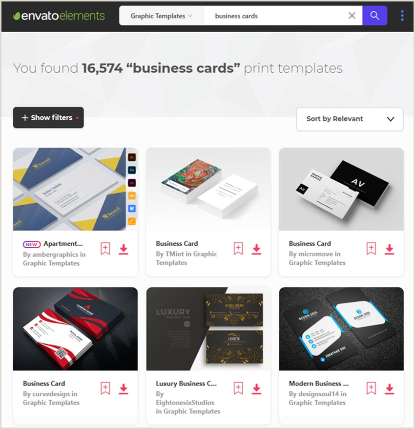 Design Your Own Business Cards 20 Customizable Business Cards Download Design & Print