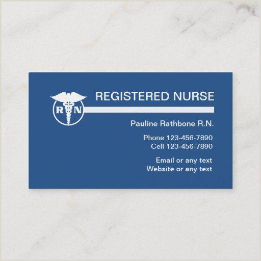 Designation On Business Cards 200 Nurse Business Cards Ideas In 2020