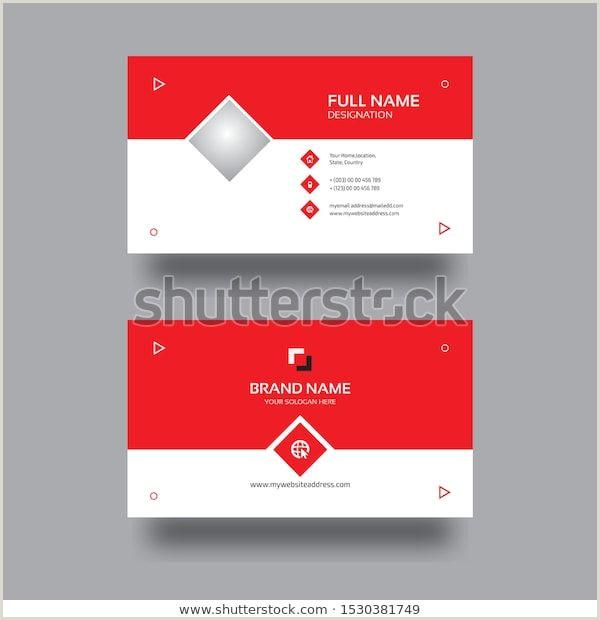 Designation On Business Cards Find Corporate Business Card Design Illustration Stock