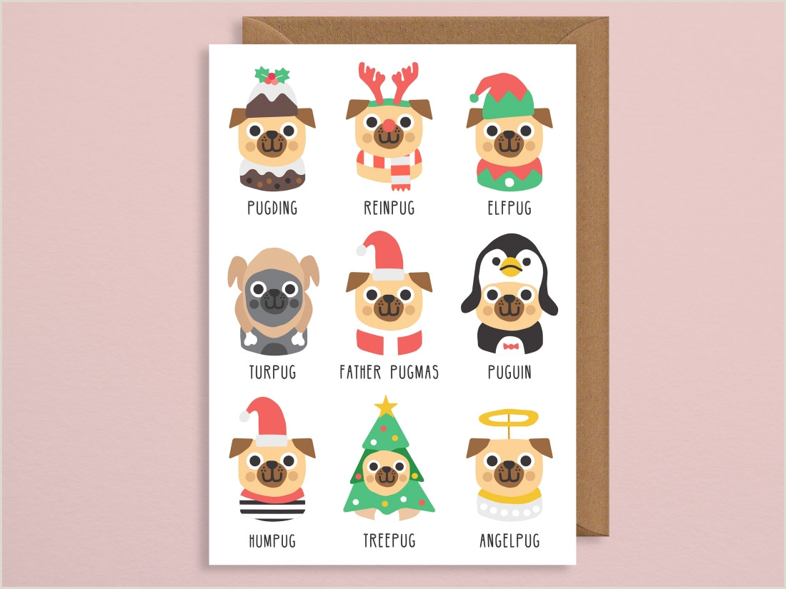 Designer Name Card Design Inspiration Shop Independent Pick These Christmas Cards To Support