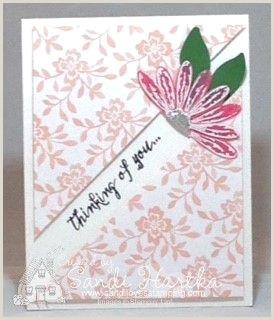 Designer Paper For Card Making Fresh Florals Designer Series Paper Stampinup Daisy Delight