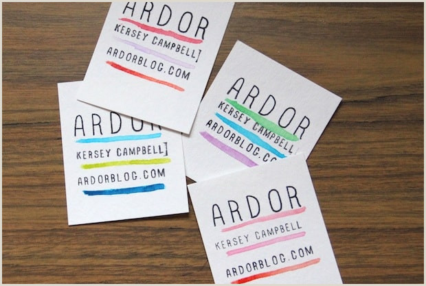 Diy Unique Business Cards 15 Diy Business Card Designs You Ll Want To Try Immediately
