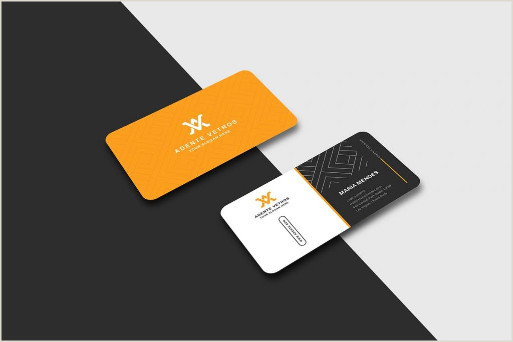 Example Of Business Cards Best Business Card Design 2020 – Think Digital