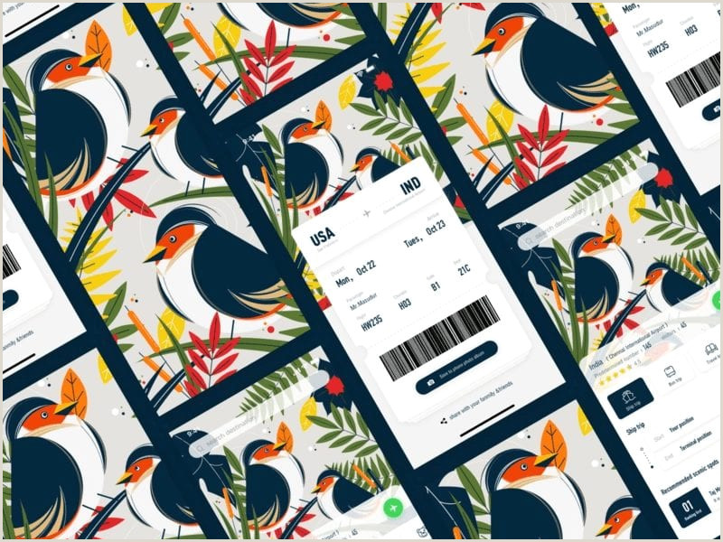 Example Of Good Print Design App Inspiration 50 Awesome Examples Of Minimal Mobile Ui Design