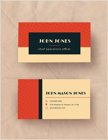 Examples Of Business Cards 18 Business Card Examples Templates & Design Ideas