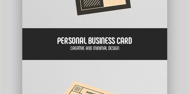 Examples Of Personal Business Cards 25 Best Personal Business Cards Designed for Better