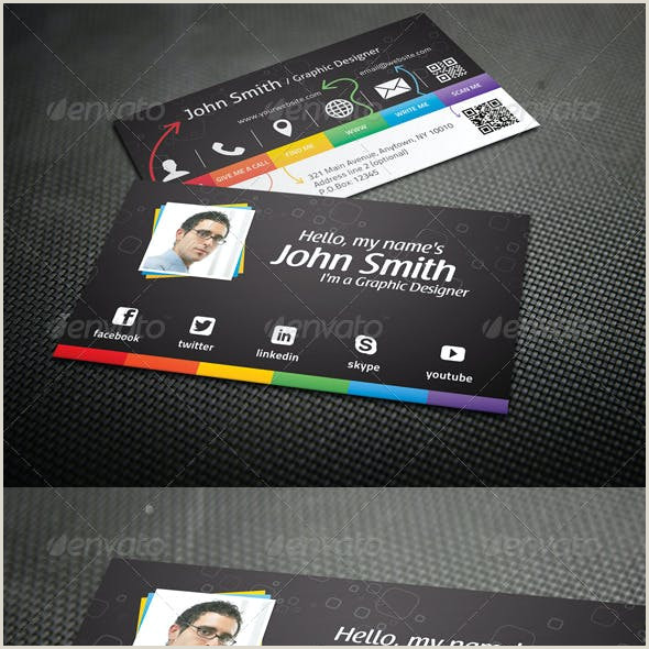 Examples Of Personal Business Cards Personal Business Card Templates & Designs From Graphicriver