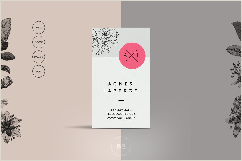 Fashion Business Card Ideas Free 20 Fashion Business Card Templates In Word Psd
