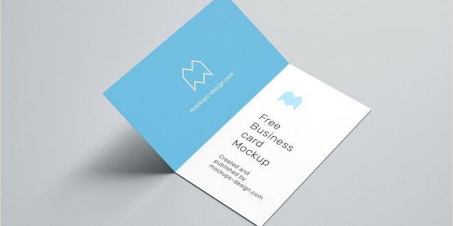 Fold Over Business Card Template Folded Business Card Templates Addictionary