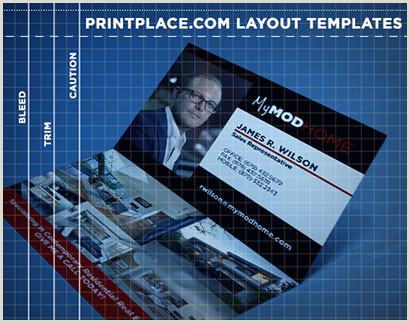 Fold Over Business Card Template Folded Business Cards Print Templates Free Download