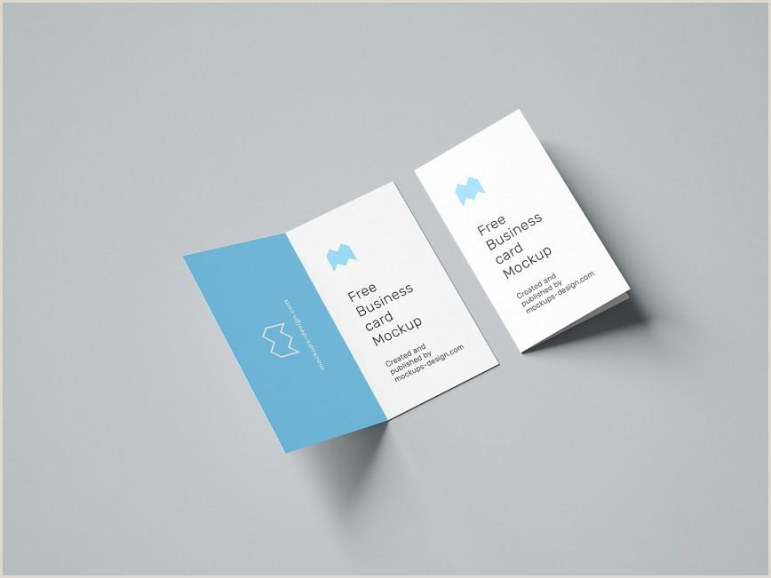 Fold Over Business Card Template Folding Business Card Template Addictionary
