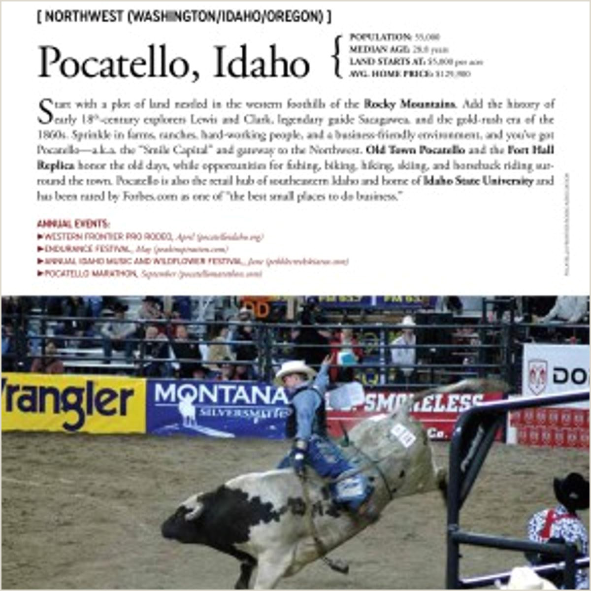 Forbes Best Business Cards Pocatello Makes National Cowboy Town Ranking
