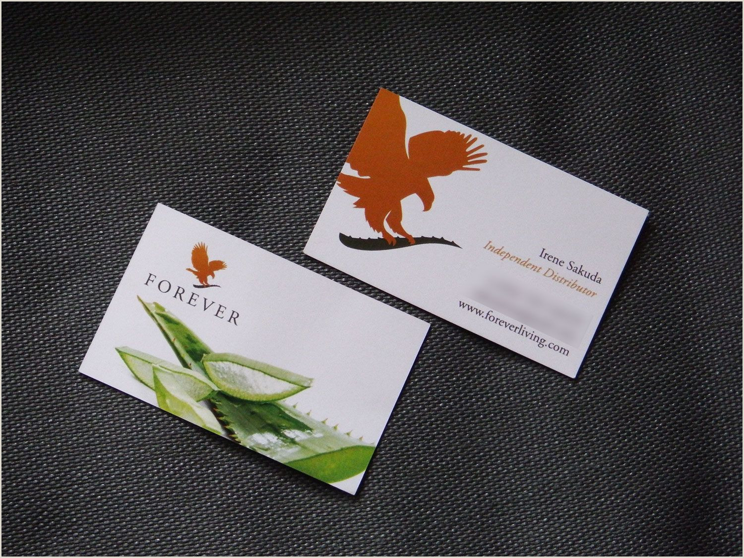 Foreverliving Best Business Cards Template Business Card Design