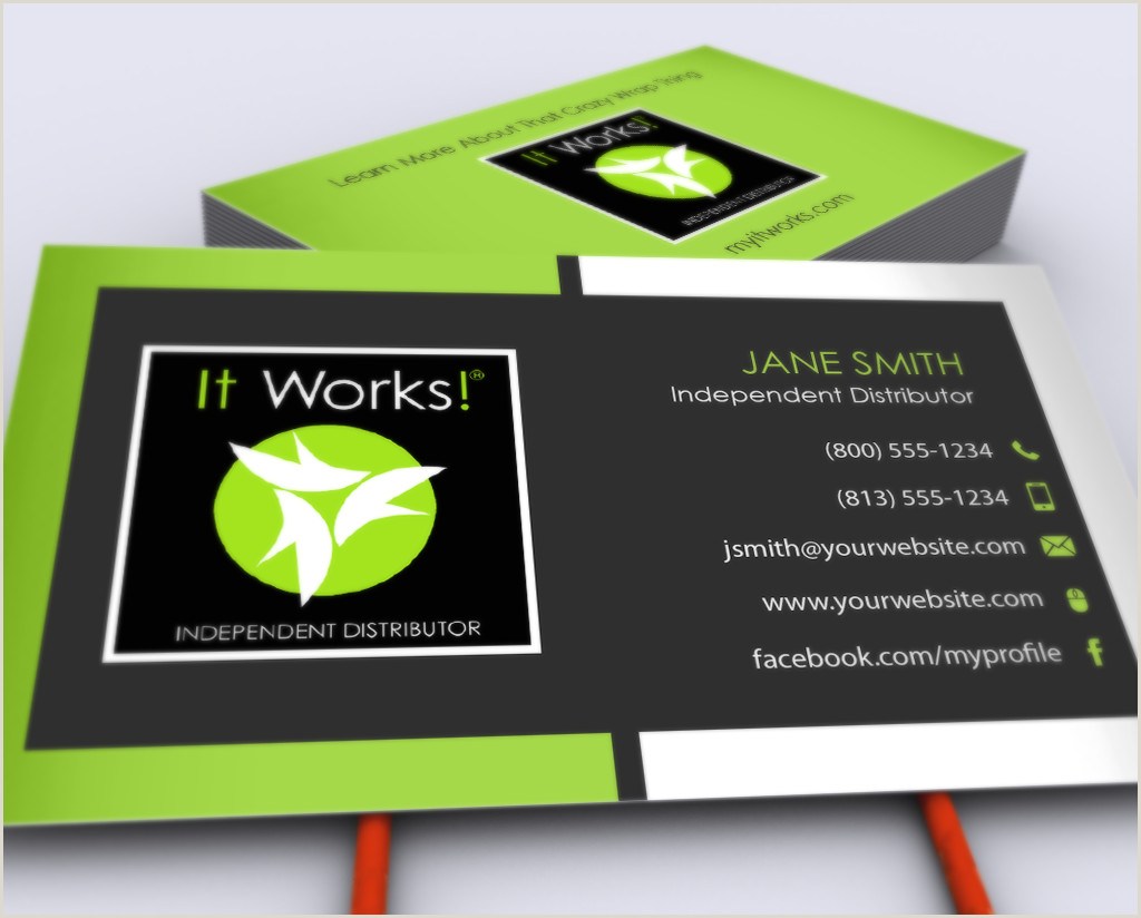 Free Business Cards Shipping Included Pin On It Works Business Cards