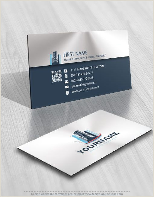 Free Logos For Business Cards Buildings Real Estate Logo Patible Free Business Card
