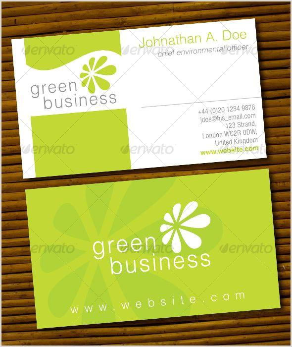 Fun Business Cards Green Business Card