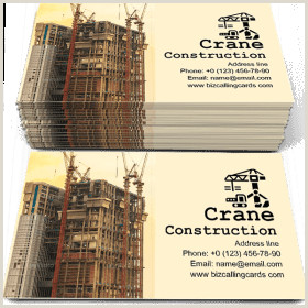 General Contractor Business Card Ideas ✅ 83 Contractor & Builder Business Card Examples