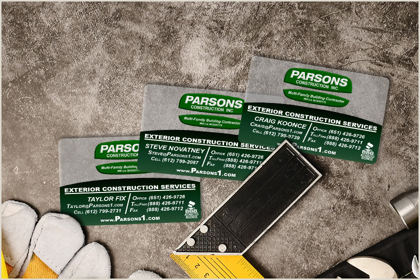General Contractor Business Card Ideas Top 10 Business Card Ideas For Construction Marketing