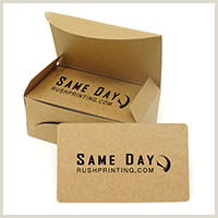Get Business Cards Made Same Day Same Day Standard Business Cards Printing Services