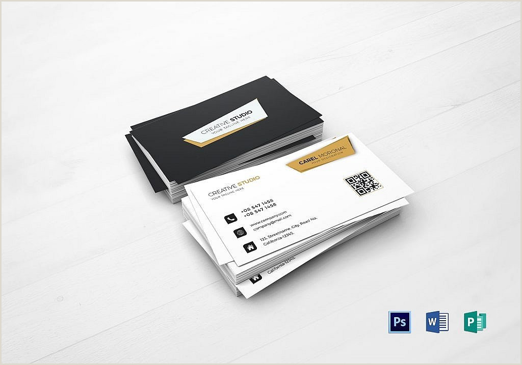 Good Business Card Examples 55 Beautiful Business Card Designs