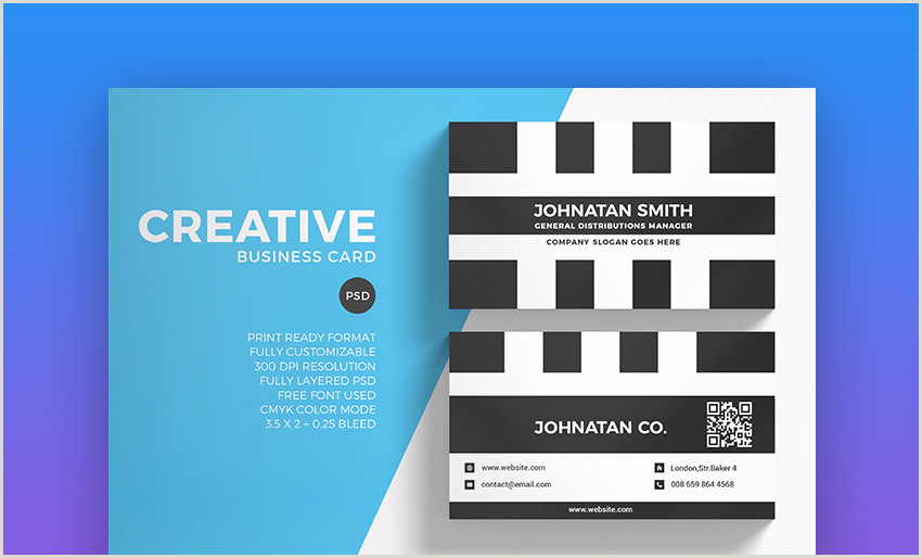 Good Business Card Layout 18 Free Unique Business Card Designs Top Templates To