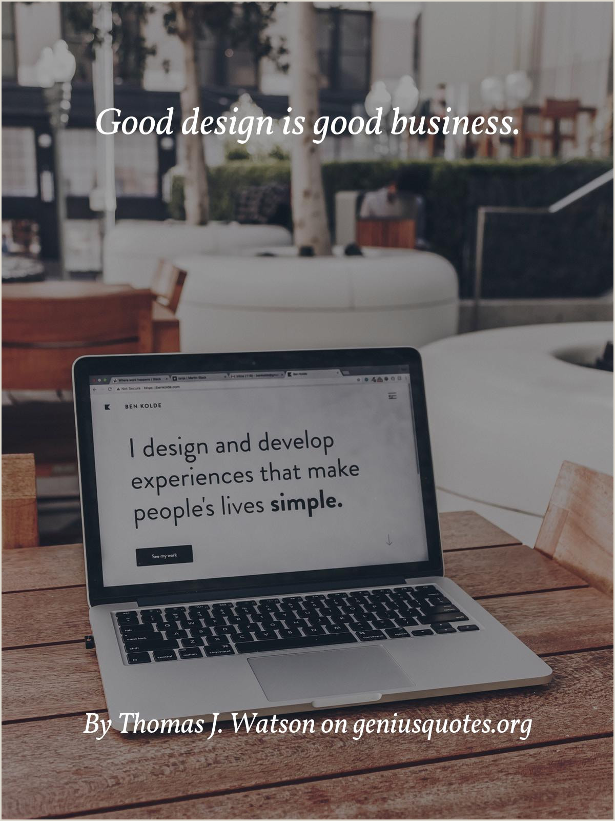 Good Design Is Good Business Quote Quote Good Design Is Good Business