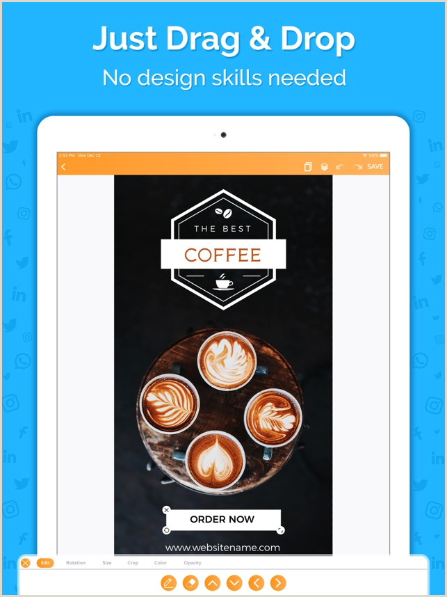 Good Design Is Good Business Quote Social Media Post Maker On The App Store
