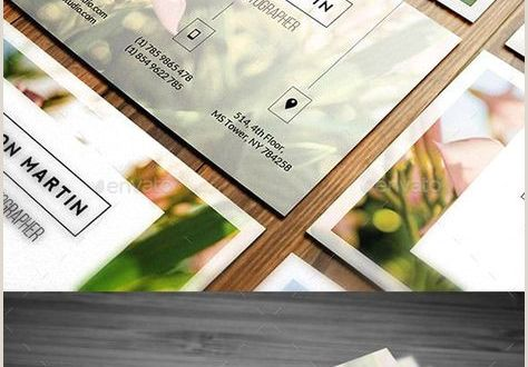 Good Examples Of Business Cards 40 Trendy Ideas Photography Business Cards Template Creative