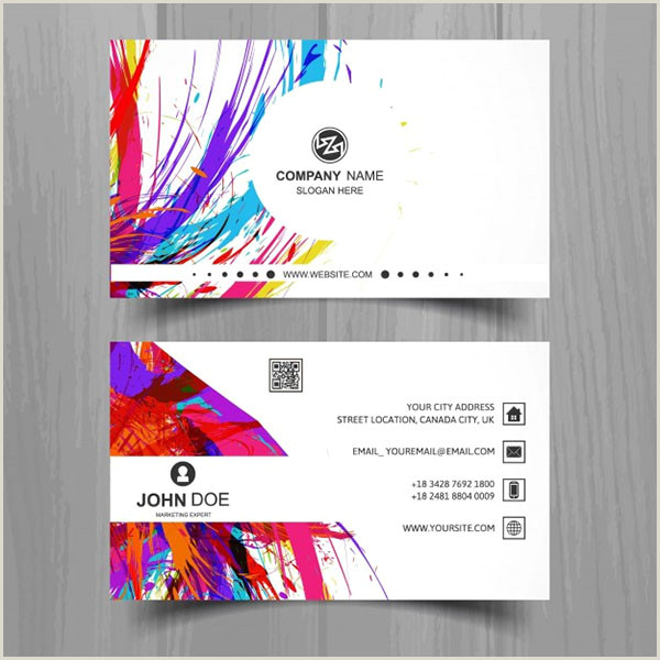 Graphic Artist Business Cards 49 Artist Business Card Templates Free Psd Vector Png Ai