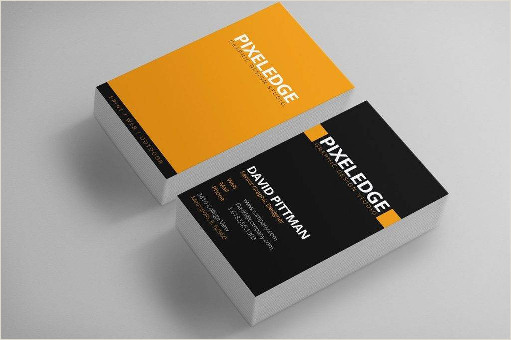 Graphic Designer Business Card Examples 15 Graphic Designer Business Card Templates In Ms Word