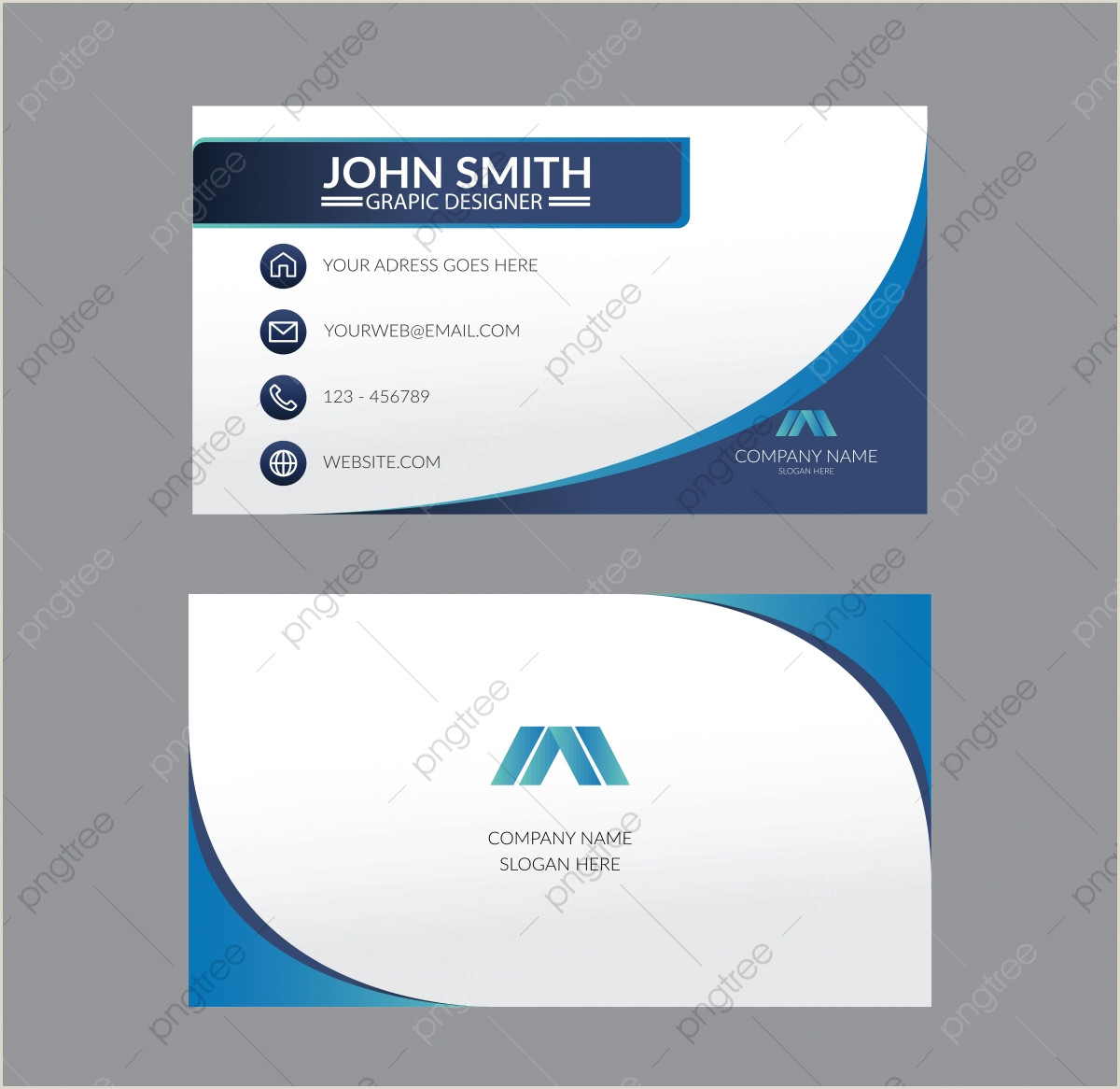Graphic Designer Business Card Templates Business Card Design Png
