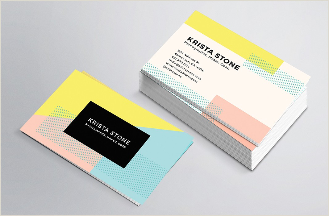 Great Business Card Examples Top 32 Best Business Card Designs & Templates