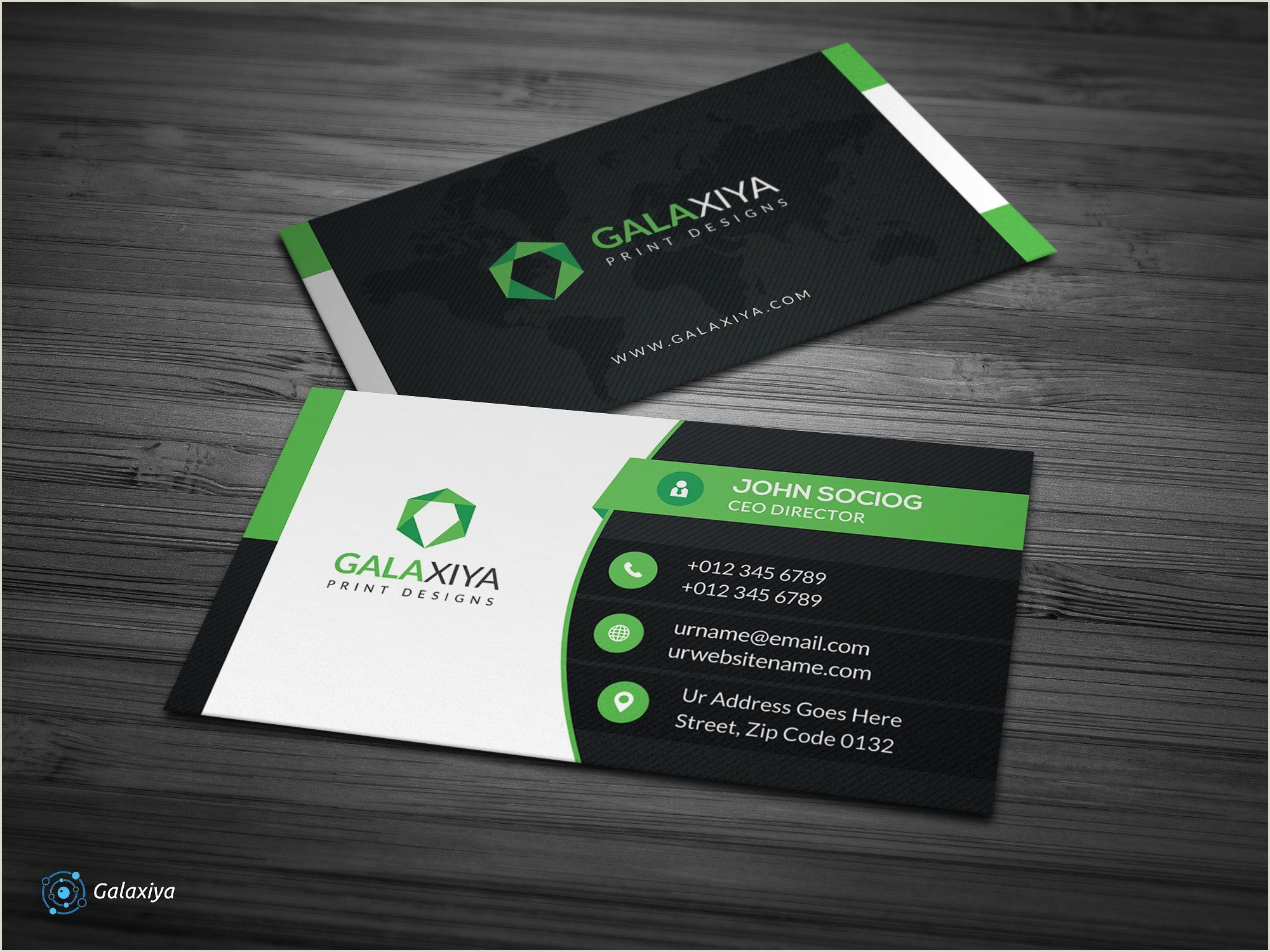 Great Business Cards Examples Creative Corporate Business Cards By Galaxiya On