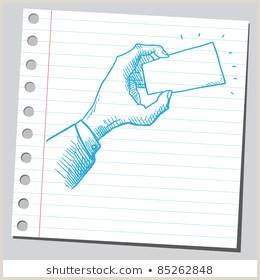 Hand Drawn Business Cards Hand Drawn Business Card Stock S & Vectors