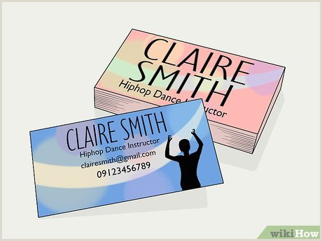 Hip Business Cards Simple Ways To Teach Hip Hop Dance With Wikihow