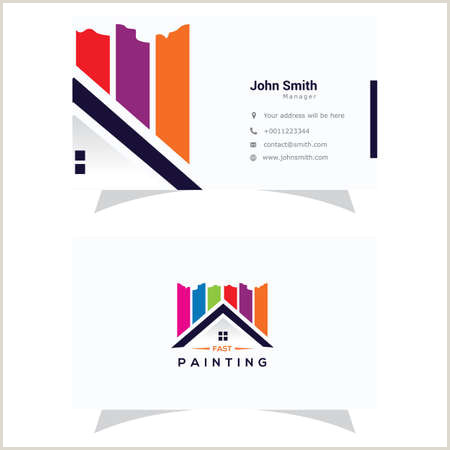 Home Improvement Best Business Cards Home Improvement Business Card Cliparts Stock Vector And