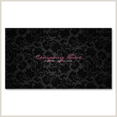 Hot Pink Business Cards 20 Business Cards Ideas Pink And Black