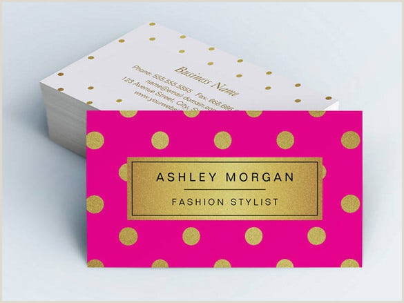 Hot Pink Business Cards 23 Pink Business Card Templates Ai Pages Psd
