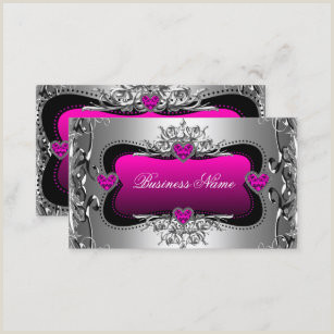 Hot Pink Business Cards Hot Pink Business Cards Business Card Printing