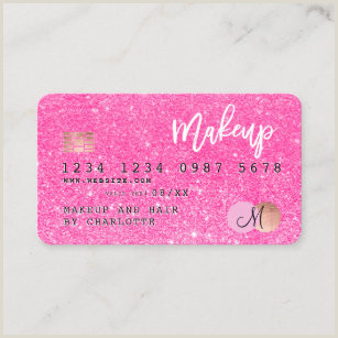 Hot Pink Business Cards Neon Pink Business Cards Business Card Printing