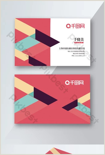 Hot Pink Business Cards Pink Business Card Templates
