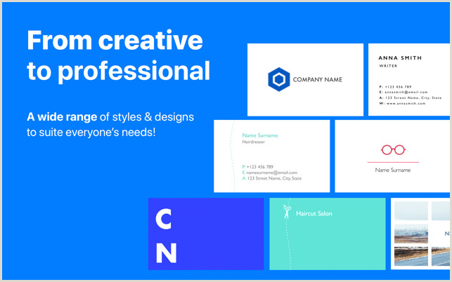 How Big Is A Business Card business Card Maker Templates