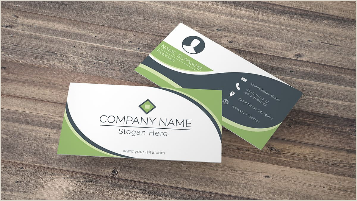 How Big Is A Business Card Standard Business Card Size Characteristics And Dimensions
