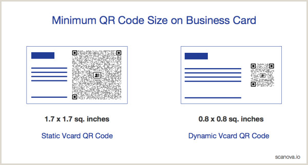 How Many Business Cards Fit On A Page Qr Code Size Business Card Find The Ideal Size For Your