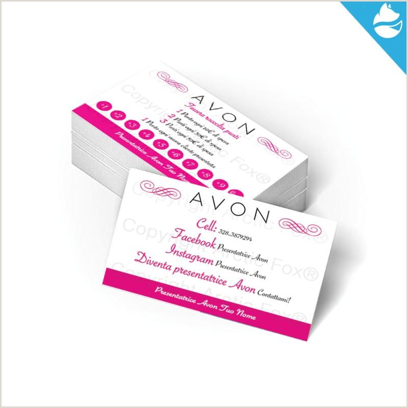 How To Make A Buisness Card Avon Business Card